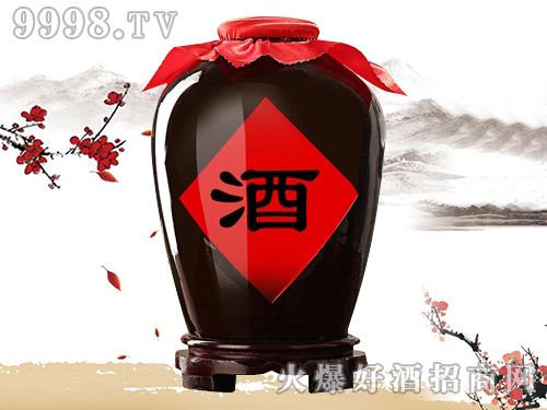 万舜泉红高粱玫瑰酒